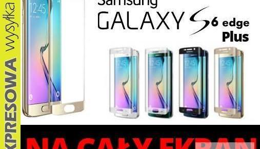 Szkło hartowane SAMSUNG GALAXY S6 Edge + PLUS cały ekran Nowy produkt