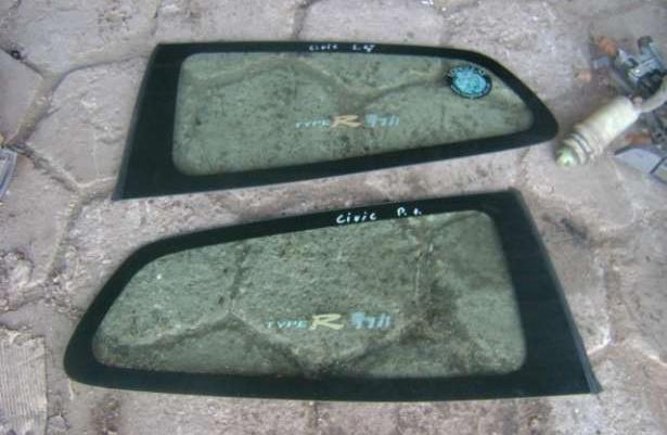 Szyba tylna oraz boczne Honda Civic V 91-95