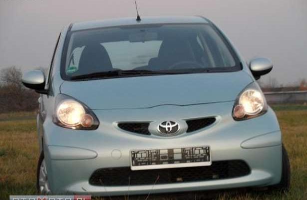 Toyota Aygo SERWIS KLIMA 1-WŁAŚCICIELwarto 2005