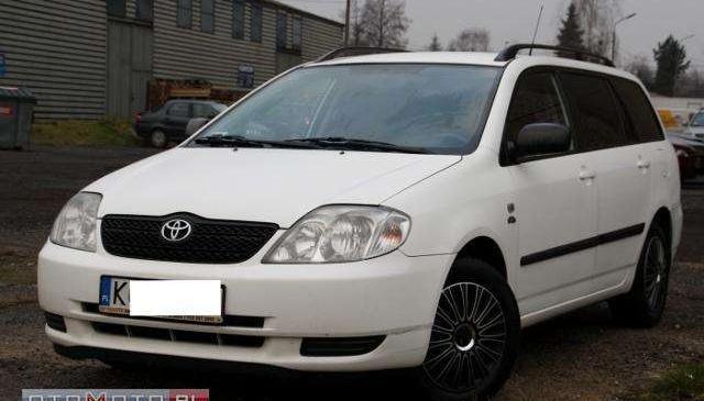 Toyota Corolla Krajowa Serwis Zadbana Klimat 2003