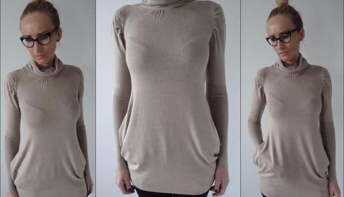 Tunika-Sweterek Tuba w najmodniejszych kolorach! Nowy produkt