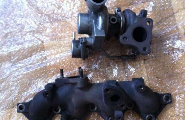 Turbosprężarka Astra III H + kolektor