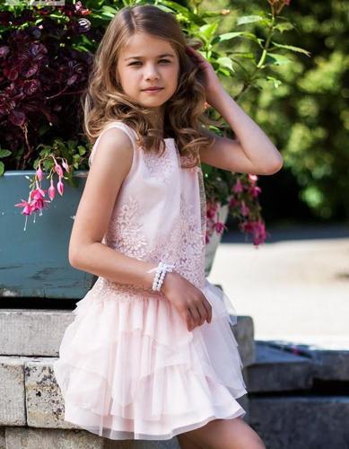 Unikatowa sukienka dla dziewczynki z limitowanej kolekcji special mome Nowy produkt