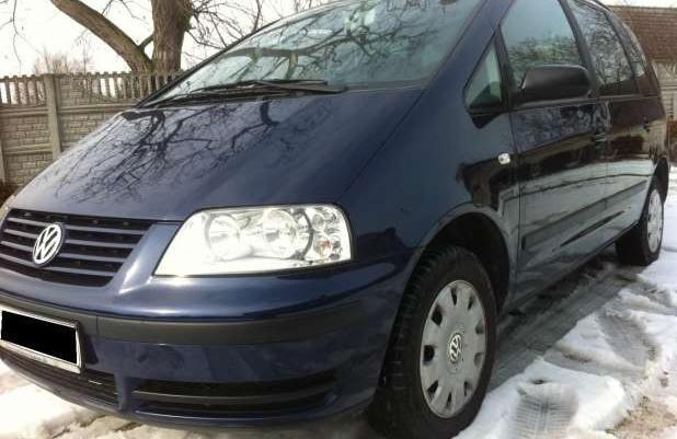 Volkswagen Sharan 1.9 TDI 116KM FAMILY