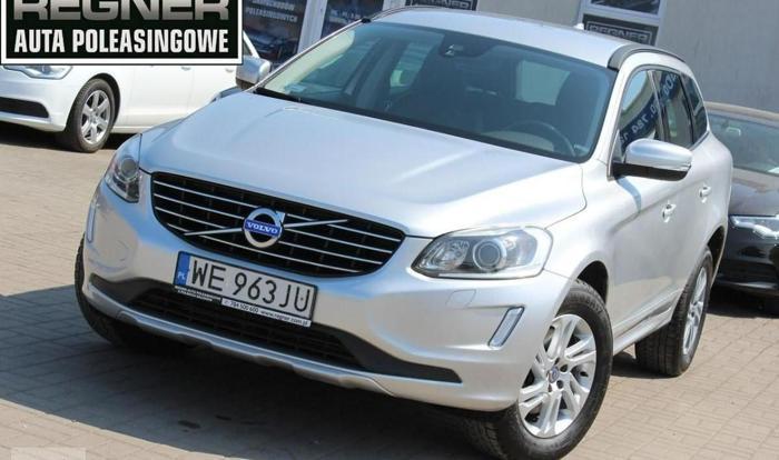 Volvo XC60 I 2.0 D4 181KM Salon PL FV23% 1WŁ LED Tempomat Gwarancja