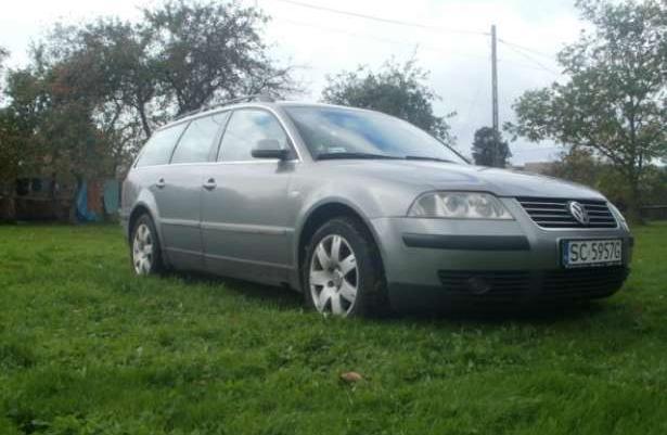 VW passat B5 FL 2003 1.9Tdi Climatronic Parktronic zamiana 222tyś!!