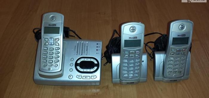 Zestaw telefonów bezprzewodowych MAXCOM M C5500 VOICE TWIN